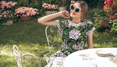 dolce and gabbana eyewear sunglasses ortensia