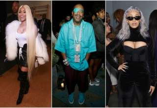 Nicki Minaj Slick Rick Cardi B