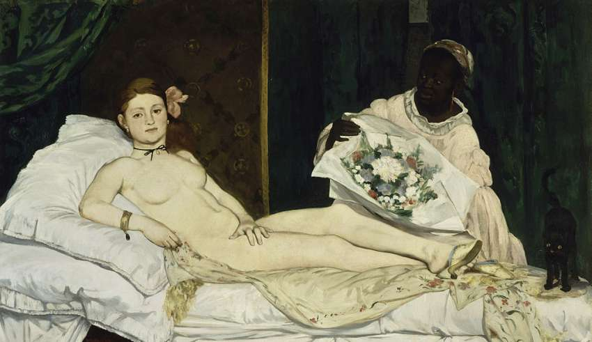 Edouard Manet   Olympia   Google Art Project 2