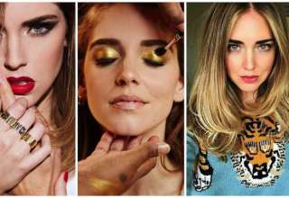 tutti i beauty look di chiara ferragni