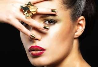trucco makeup capodanno 2017 oro