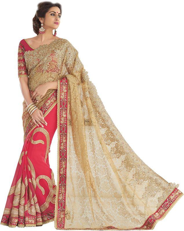 sari in Georgette