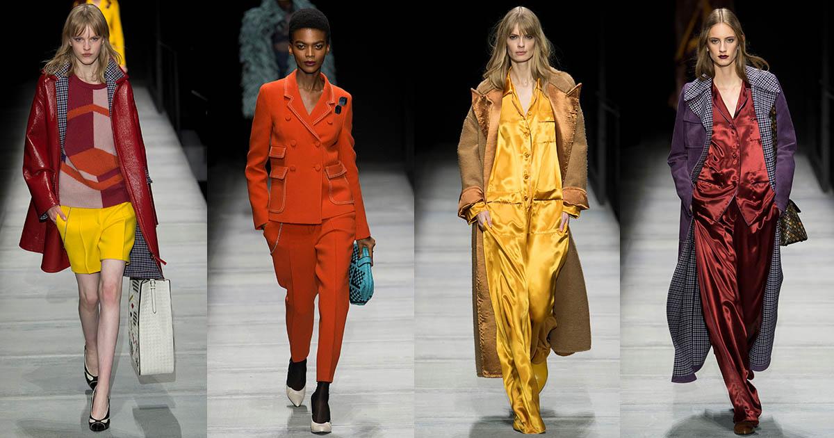 Bottega Veneta: colori abiti