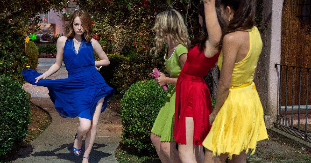La La Land moda abiti donne