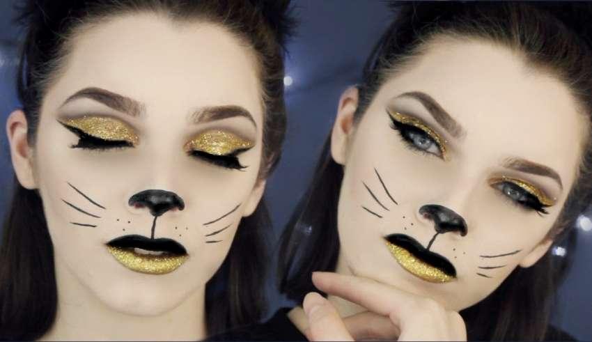 """Trucco Carnevale 2018: un look semplice ma d'effetto, """"la donna gatto"""""""