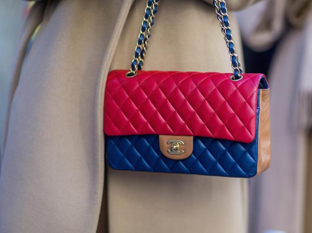 borsa Chanel bicolore