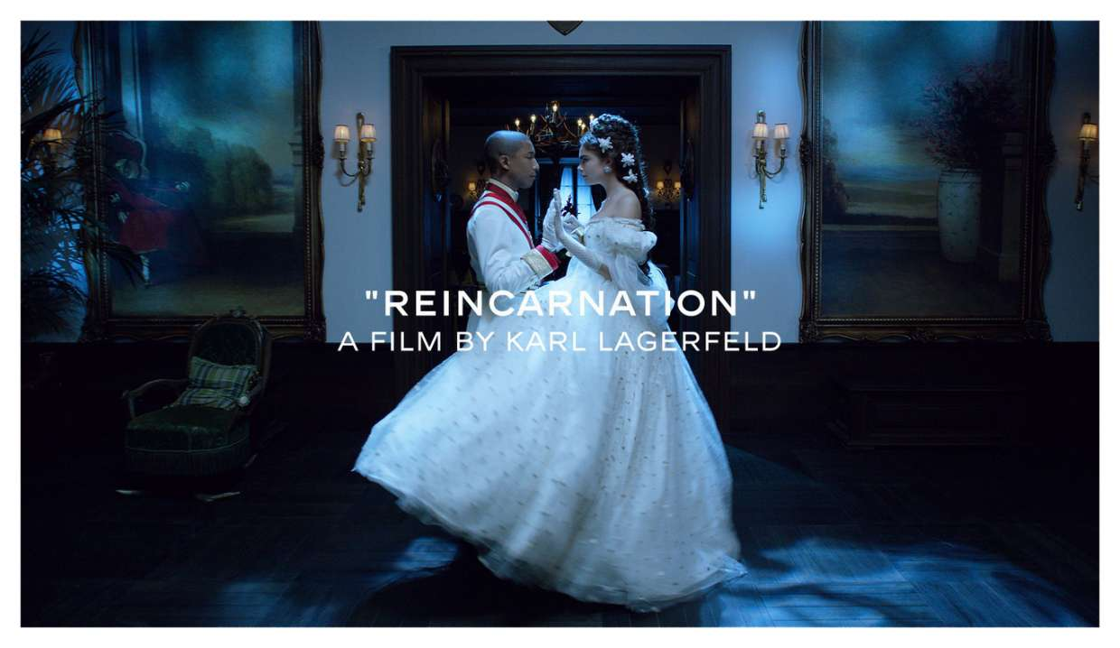 Reincarnation Film By Karl Lagerfeld