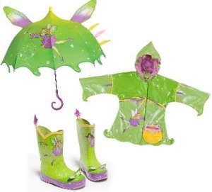Impermeabile bambino verde