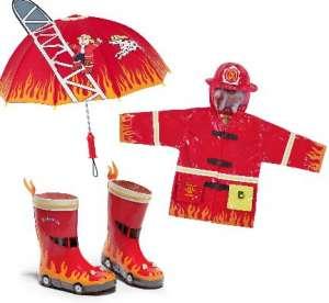 Impermeabile bambino pompiere
