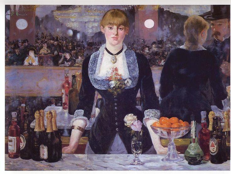 Quadro di Manet: il chocker nello stile vittoriano