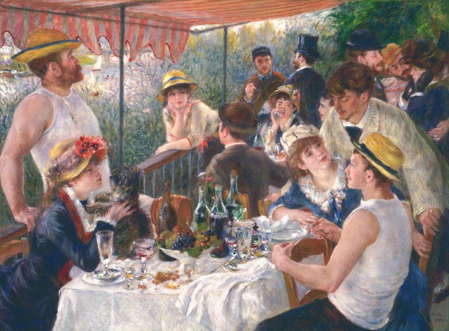 """Renoir: Quadro la """"Colazione dei Canottieri"""""""