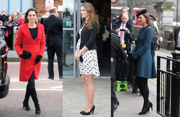 Moda Premaman Kate Middleton