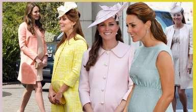 Moda Premaman: lo stile di Kate Middleton al quale ispirarsi
