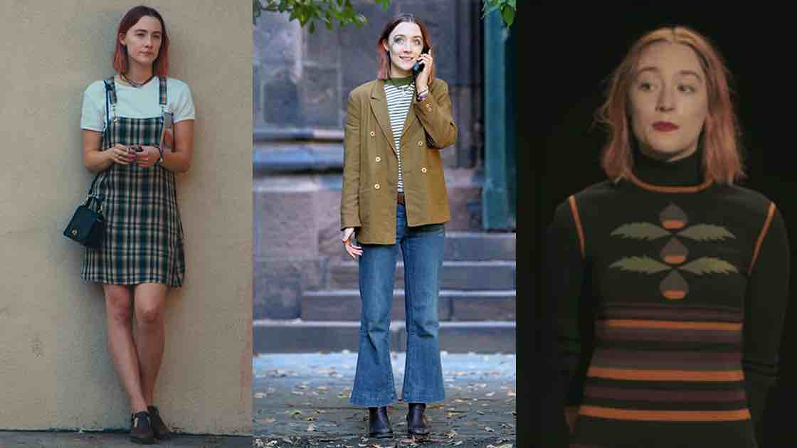 outfit attrice lady bird