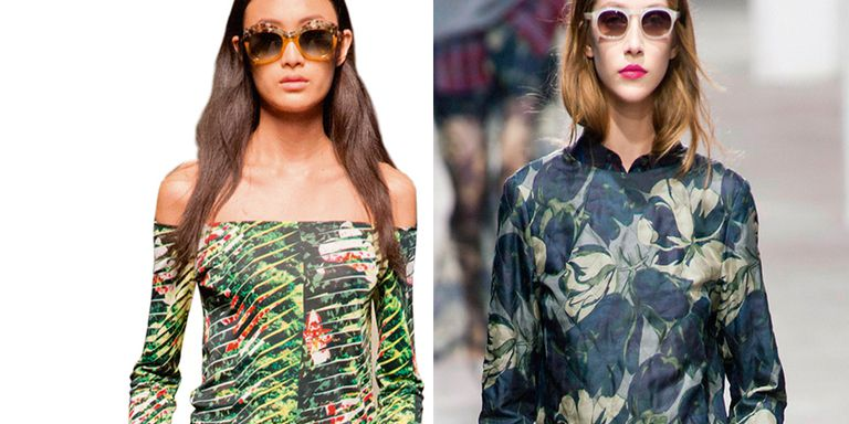 Jungle style: la moda porta i tropici in città