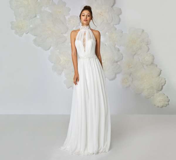 abito da nozze bianco