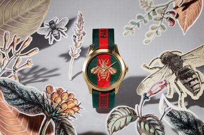 orologio con disegno di un'ape