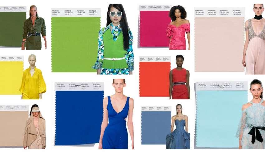 Colori moda abbigliamento primavera estate 2017