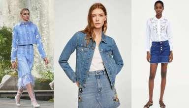 gonne di jeans primavera estate 2018