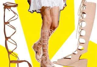 tendenze chloe sandali gladiators