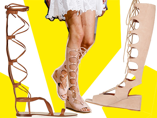 tendenze chloe sandali gladiators