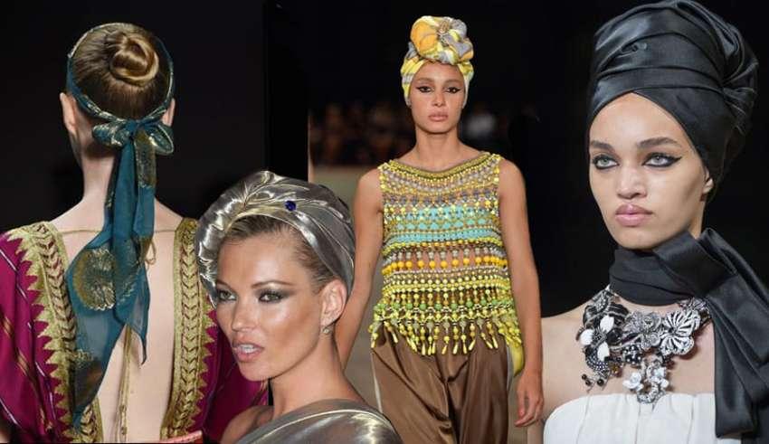 foulard in versione turbante copertina