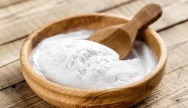 Maschera purificante al bicarbonato di sodio