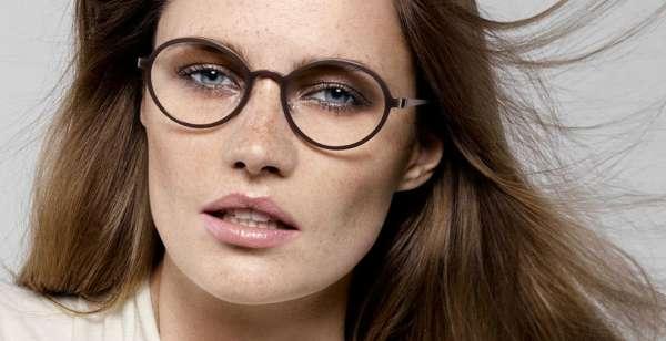 montatura occhiali da vista rotondi