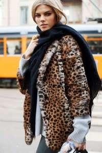 Animalier Style Giacca leopardata
