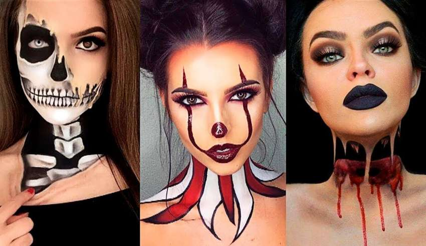 Top 17 Easy Halloween Makeup Tutorial Compilation 2018 Viral Makeup Tutorial Videos on Instagram