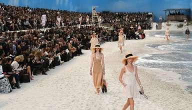 Una passerella esotica nella settimana della moda di Parigi