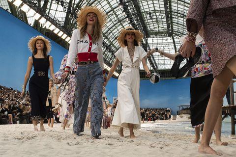 Passerella sulla sabbia Parigi