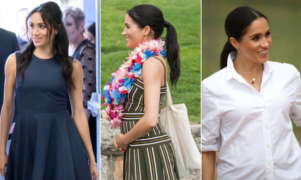 Outfit Meghan Markle incinta