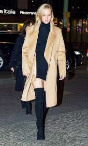Cappotto inverno color cammello