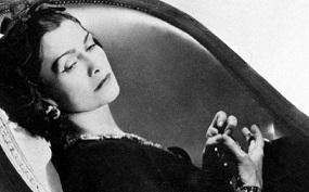 Coco Chanel Foto Bianco e nero
