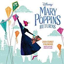 calendario Disney ispirato alla locandina del film Mary Poppins