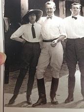 Étienne de Balsan e Gabrielle Coco Chanel