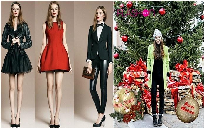 outfit elegante per le feste natalizie