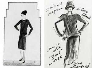 Rappresentazione Grafica Coco Chanel