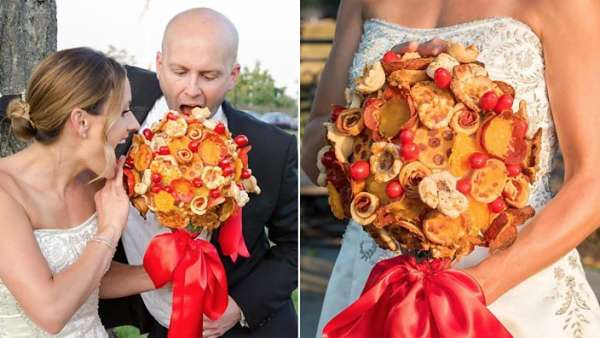 Un bouquet di pizza? Yes, of course!