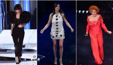 I look delle terza serata del Festival di Sanremo