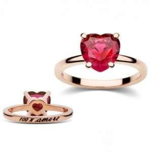 anello dodo 100per100 amore cuore rosso ad9amsr 3