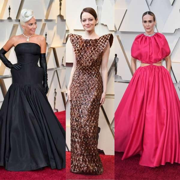 I look della notte degli Oscar 2019