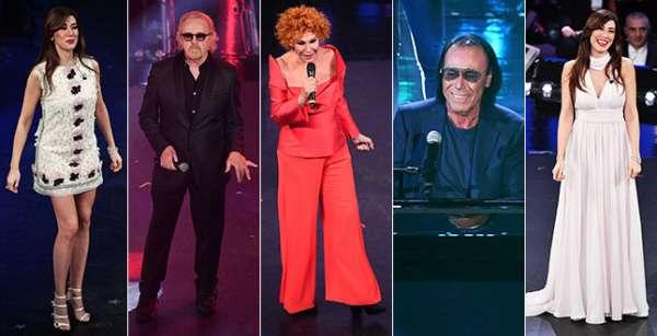 Il look degli ospiti della terza serata del Festival di Sanremo 2019