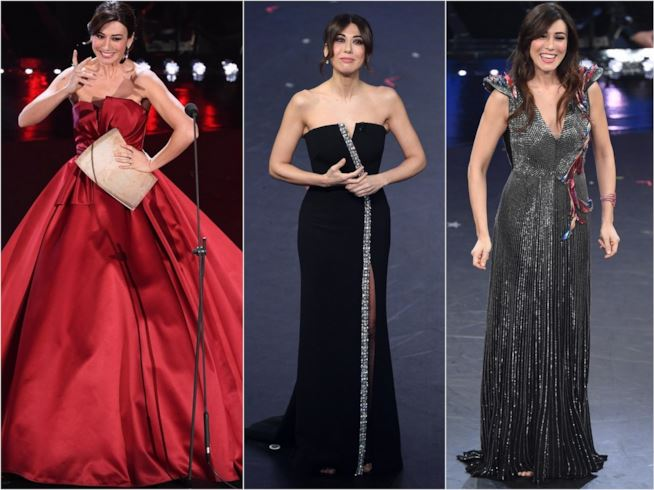 Sanremo 2019 : i look di Virginia Raffaele