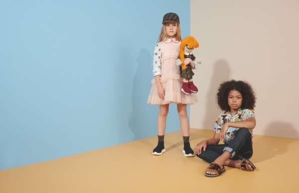 La collezione Fendi Kids è rinomata per il delizioso uso di colori e stampe tipicamente giocose