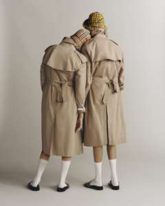 Burberry Heritage Trench Reimagined photographed by Thurstan Redding styled by Ruben Moreira