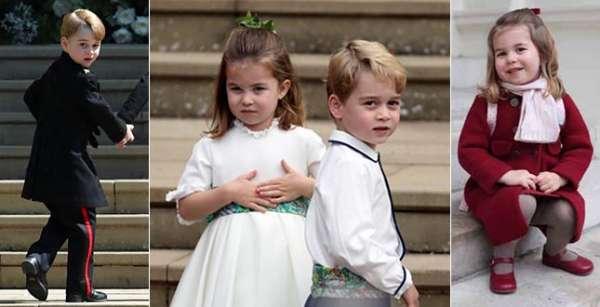 Il look del principino ha influenzato tantissimo la moda dei più piccoli