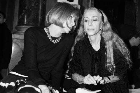 Anna Wintour e Franca Sozzani