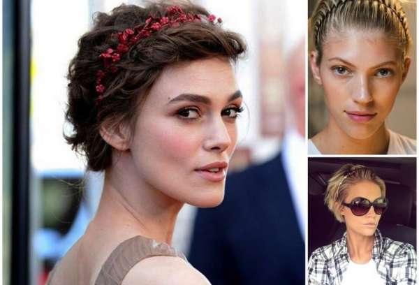 Le modelle puntano ai dettagli brillanti tra i capelli